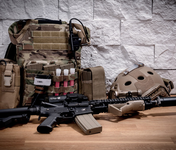 Equipement militaire airsoft